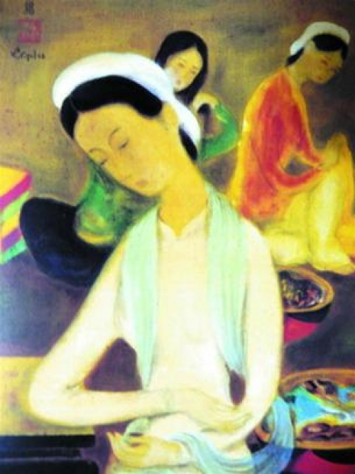 Vietnam Silk Painting conquer the heart of art lovers