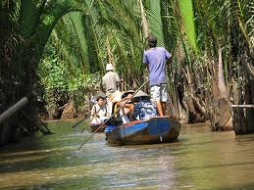 Holy Land of Coconut Religion in Ben Tre- Phung Islet