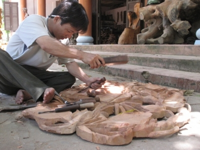 Traditional carpentry village of Chang Son