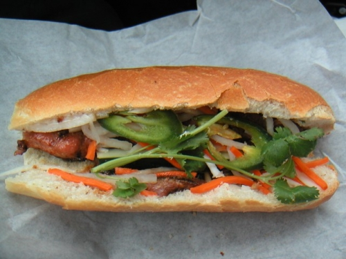 Banh mi- in the list of world top street foods