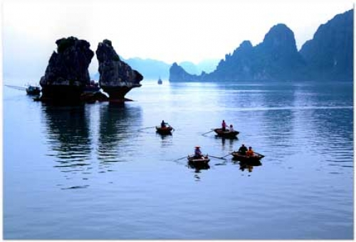 Bai Tu Long National Park - Enjoying fascinating scenery