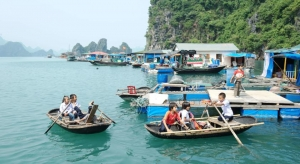 Cua Van Fishing Village listed as