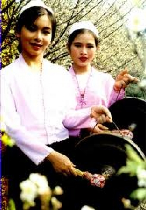 Enjoy to national culture and tradition in the Muong ethnic group