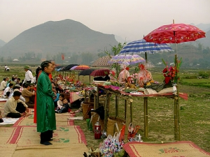 Tay people in Bac Kan celebrate Long Tong Festival