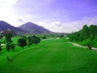 Spectacular scenery of Tam Dao golf course