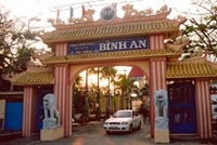 Binh An Tourist Resort in Soc Trang