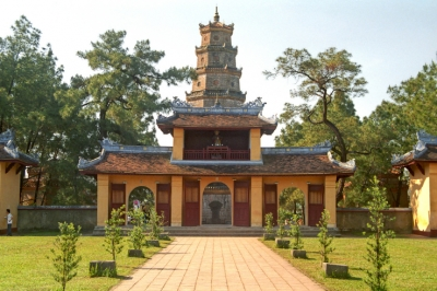 Thien Mu Pagoda - The legend about a fairy woman