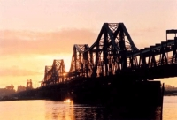 Long Bien Bridge - a Living Historical relic