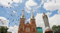 Notre Dame Cathedral (Notre-Dame Basilica) in Ho Chi Minh City