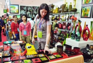 Hanoi Gift Show 2015 takes place in Hanoi