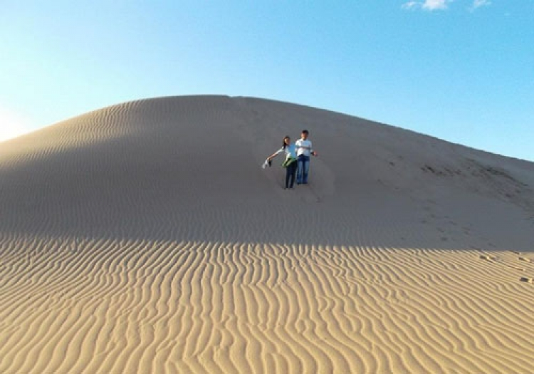 Romantic Nam Cuong sand hill